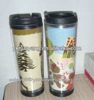 China insert paper tumbler manufactures photo insert tumbler wholesalers coffee tumbler