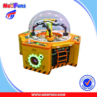 2016 Hottest High Quality Arcade Electronic Kids Game Coin Operated Candy Project Gift Game Machine For Sale