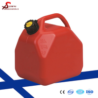Fuel gas metal steel tank holder RED oil jerry can