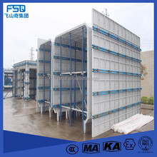 Export Supplier Metal Concrete Formwork Coffrage System Aluminium Concrete Forms Sale