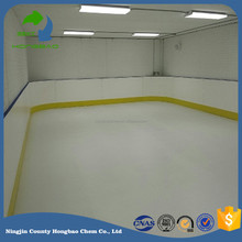 polyethylene sheet 15mm/artificial ice skate floor/synthetic ice skating flooring