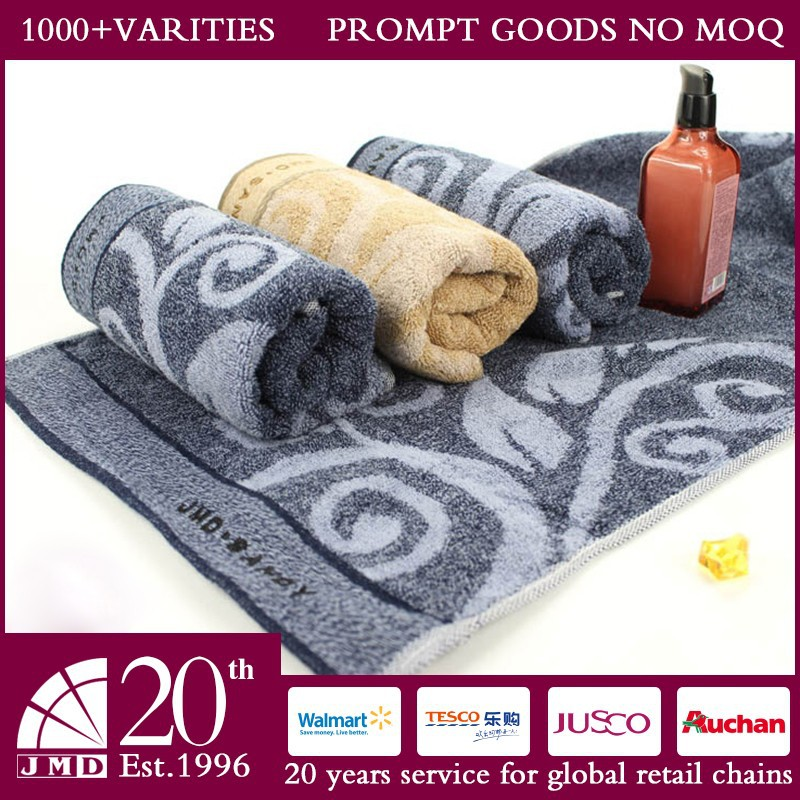 Supermarket Hot Sale NO MOQ New <strong>Custom</strong> Jacquard <strong>100</strong>% Cotton Hand Towel
