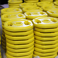 Olympic bumper plates color rubber coated weight bumper plate 1.25kg 2.5kgn 5kg 10kg 20kg 25kg 50kg