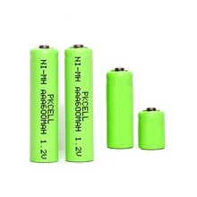 1.2v ni-mh battery 1/4 aaa 80mah rechargeable battery