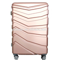 Smart Fashion 2017 usb charger luggage trolley suitcase