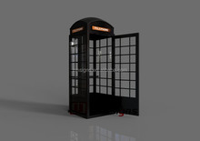 Aluminum phone booth for sale