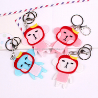 Cheap custom promotion photo keychain , custom keychain maker , acrylic keychain