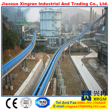 polyester chemical resistant conveyor belt ep200 1000mm flame resistant rubber conveyor belt wood chips transport