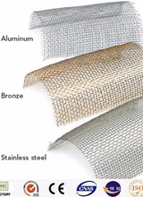 Top quality Security Window Screen transparent window screen mesh