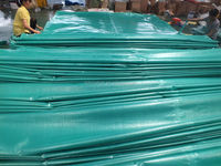 Custom Made Rubber Tarps Cover Tarpaulin Plastic Sheet with All Specifications