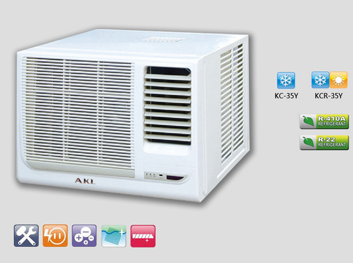 Mini 1 Ton Window Type Air Conditioner With R410a Gas