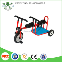 2015 Popular play items kids double seat tricycle / Three Wheel pedal car