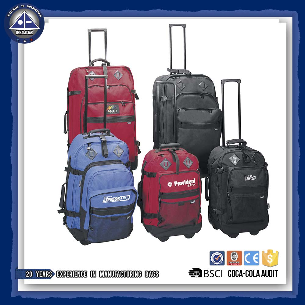 2017 Newest luggage travel set trolley bag