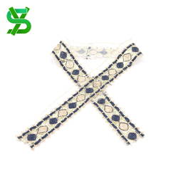 High quality new design fashion national embroidery decorative lace trim