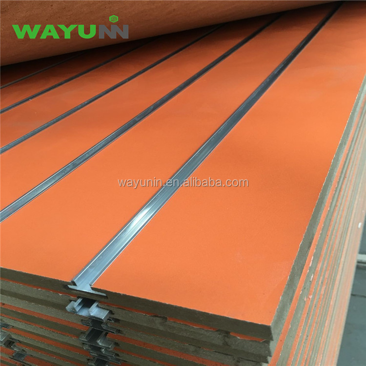 T V W wall tongue and groove slotted mdf board wood panels