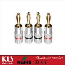Good quality banana plug 3.5mm gold plated UL CE ROHS 662 KLS