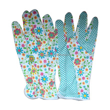 Gardening glove/PVC dotted palm