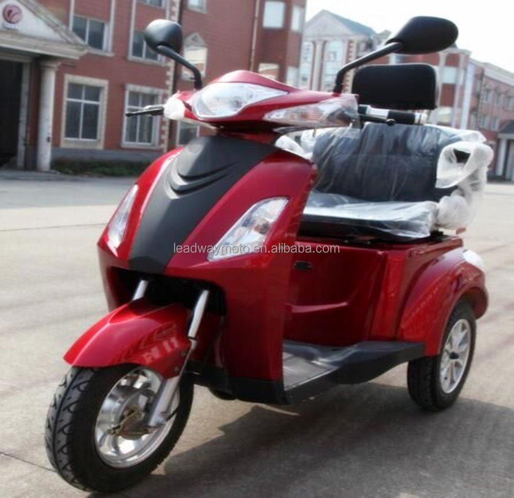 3 wheel closed tricycle electric car for passenger