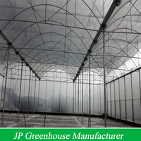 galvanized plastic film greenhouse