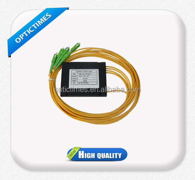 1 to 4 Channel 1.5 meter pigtail optical fiber splitter
