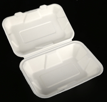 Hot-Selling Bagasse food container, biodegradable disposable food container, biodegradable food container