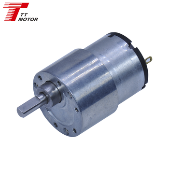 GM37-520TB 37mm low rpm micro electric dc gear motor