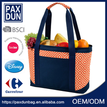 reusable shopping Quilted Tote Bag Wholesale with zipper