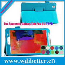 Colourful Folio Book Stand Leather Case For Samsung Galaxy Tab Pro 8.4 T320 Tablet