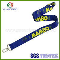 high quality wholesale promotional dye sublimation lanyard with metal accessories