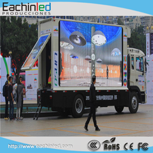 P10 mobile truck led tv screen advertising led display/screen for truck/car