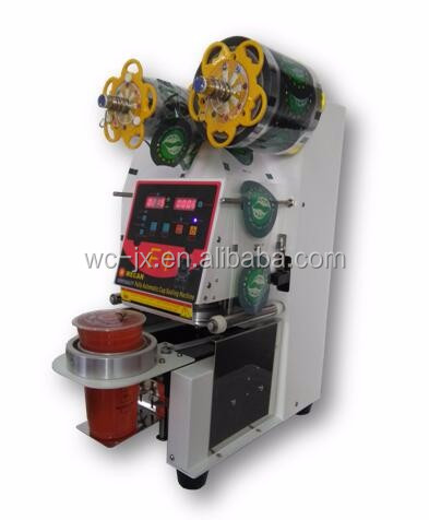 top quality instant noodles packing machine/instant noodles cup sealing machine/ hot food cup sealing machine
