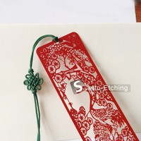 Wholesale Plated Metal Customize Bookmarks For