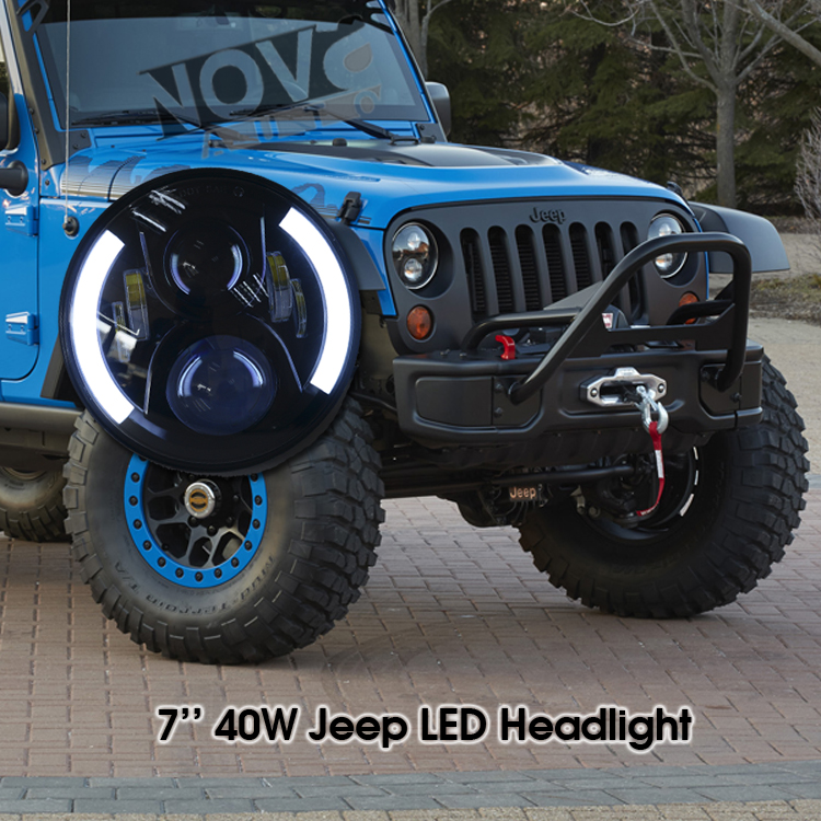 wrangler headlight 7 inch led headlight for jeep wrangler buy 7inch. Cars Review. Best American Auto & Cars Review