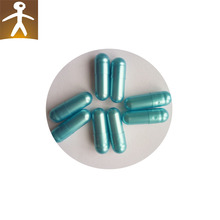 pharmaceutical free sample supply test pill or powder filling packing blue white capsule size 1