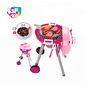 barbecue trolley toys kitchen play set for sale