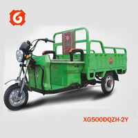 48V500W Xinge 3-wheel electrical van best seller from Xinge