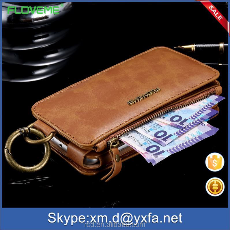 100% Hot Leather Wallet Case for S5, for Samsung Galaxy S5 luxury phone flip wallet case