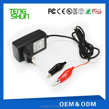 12v 1a deep cycle trickle battery charger for 12v 7ah 9ah 12ah lead acid battery