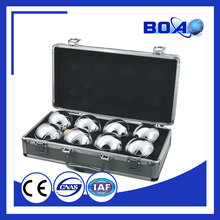 2015 new arrival game of resin petanque bocce boules set for sale