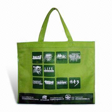 New design eco-friendly non woven bag with die cut handles with good price