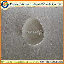 wholesale white ceramic plate with rabbit