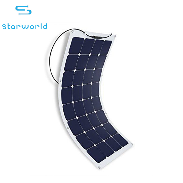 Hot Selling Sunpower Thin Film Rollable Photovoltaic Module Sunpower Flexible Solar Panel 80W 100W 120W 150W 200W