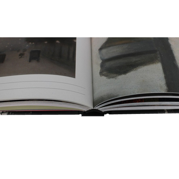 4C/C color high quality hardcover book printing