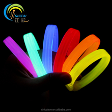 Colorful LED bracelet fluorescent bracelet concert party props supplies disposable Glow bracelets wedding