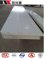 hot sale insulated 950 width pu sandwich panel for modular prefab/container house