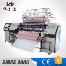 china manufacturer computerized multi needle quilting embroidery machinery
