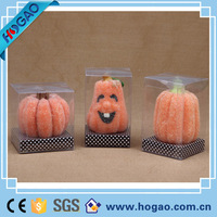 2016 Pumpkin Shaped Halloween Candle For Holiday Decoraion