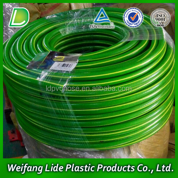 PVC Garden Hose, Reinforced with Polyester Yarns