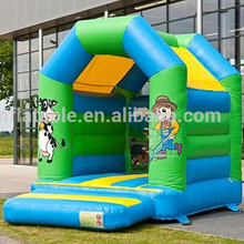 Commercial grade inflatable cowboy bouncer