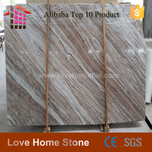 Polished coffeesea marble, Brown coffee wood vein marble slabs